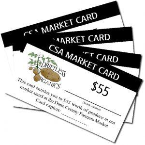 Farmers Market Cards
